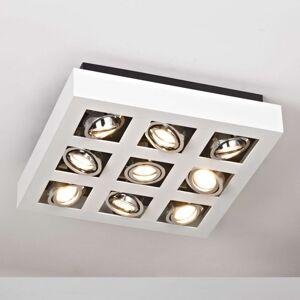 Arcchio Jasné stropní LED osvětlení Vince, 9bodové