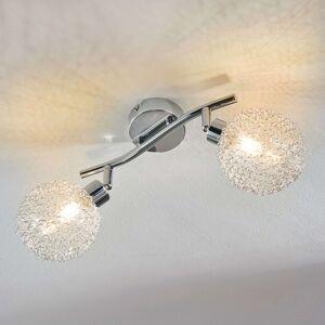 Stropní LED světlo Ticino, 2bodové
