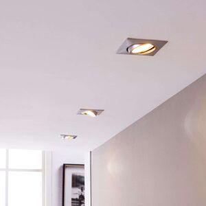 Vestavné světlo s LED, hranaté, 3dílná sada