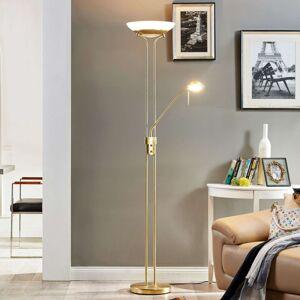 Lindby Stmívací stropní LED Yveta se čtecím světlem
