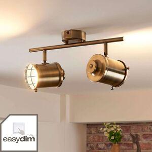 Lindby 2bodový LED reflektor Ebbi s funkcí Easydim