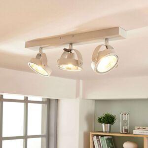 Moderní stropní LED lampa Lieven v bílé barvě