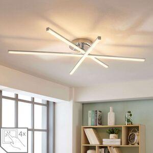 3bodová stropní LED lampa Korona, stmívač