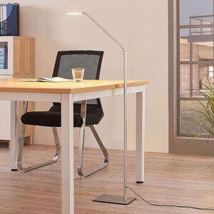 Lucande Stojací LED lampa Resi, stmívací, ideální na čtení