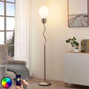 Lindby Lindby Smart RGB LED stojací lampa Mena