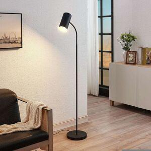 Lindby Stojací lampa Karoli s flexibilním ramenem v černé