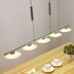 LED závěsné trámové světlo Elisea, 5zdrojové