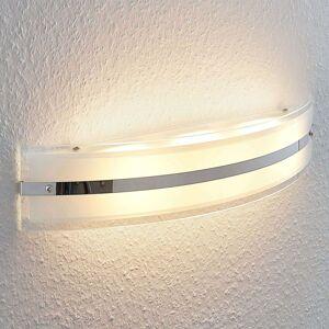 LED nástěnné světlo Zinka ze skla, 50,5 cm