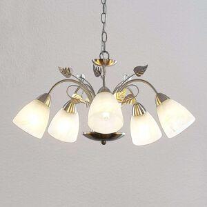 Lindby Yannie LED, závěsné světlo, 5žárovkové