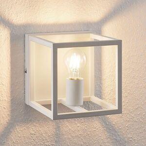 Lindby Meron, nástěnné světlo, tvar krabice, bílá