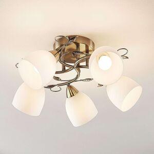 Lindby Thaddeus stropní světlo, 5žár, výška 27 cm