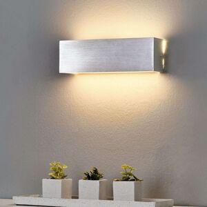 Hranatá hliníková LED nástěnná lampa Ranik