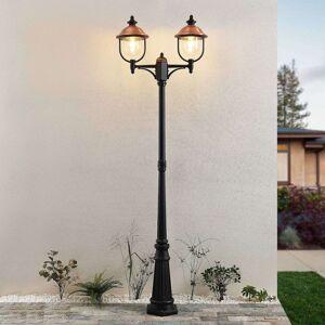 Lindby Lindby Clint venkovní lampa, 2žárovková