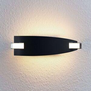 LED nástěnná lampa Marija v černé