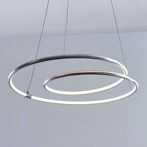 Lindby Lucy LED závěsné světlo, 45cm, hliník