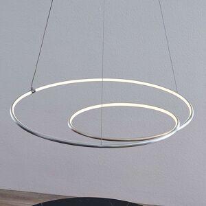 Lindby Lucy LED závěsné světlo, 70cm, hliník