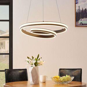 Lucande Gwydion LED závěsné světlo, 60 cm