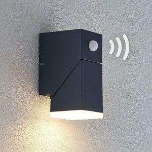 Lindby LED venkovní nástěnné světlo Sally 1zdroj senzor