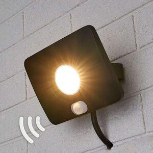 LED venkovní osvětlení Duke, hliník, senzor, 10 W