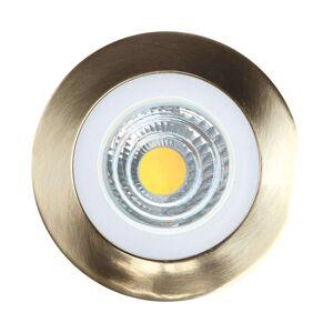 Lindby Noor LED bodové svítidlo RGBW, nikl