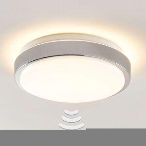 Lindby Camille LED stropní světlo Ø33cm chrom