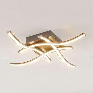 ELC Agostina LED stropní svítidlo, nikl