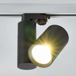 Giol LED reflektor pro kolejnicový systém v černé