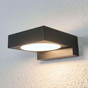 Černá LED venkovní nástěnná svítilna Natalja