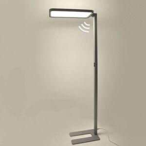 Kancelářská LED stojací lampa Matthis, stmívač