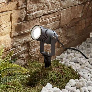 Galina venkovní osvětlení, kolík, tmavě šedé 10 cm