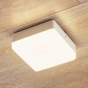 Lampenwelt.com LED stropní svítidlo Thilo, IP54, bílé, 16 cm