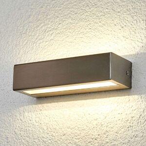 Patrica - nerezové LED venkovní světlo