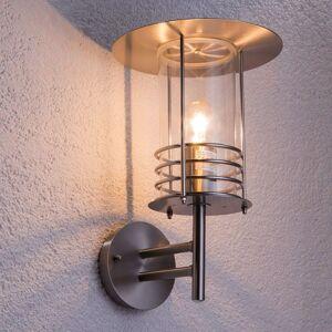 Venkovní nástěnné svítidlo Miko, nerezová ocel
