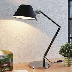 Lampa na psací stůl Alika se stínidlem, černá