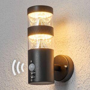 Venkovní nástěnné svítidlo se senzorem Lanea s LED
