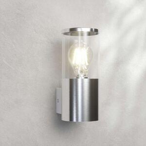 Venkovní svítidlo z nerezové oceli Hanneli, rovné