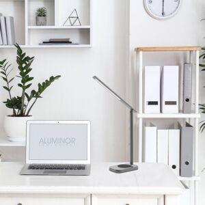 Aluminor Aluminor Lunia LED stolní lampa s USB