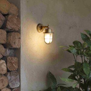FARO BARCELONA Venkovní světlo Nahir mosaz odolné vůči slané vodě