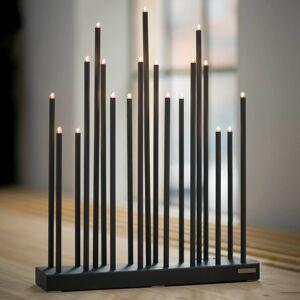 By Rydéns By Rydéns Elfugan svíčkový lustr, stmívač, černá