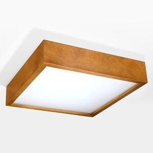 EULUNA Stropní světlo Madras dub 38,5 x 38,5 cm
