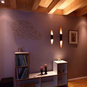 Deko-Light LED nástěnné světlo Apodis, 50cm růžovozlatá/černá