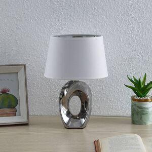 Lindby Lindby Alenja stolní lampa z keramiky a tkaniny