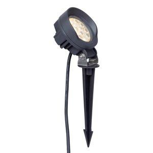 Lindby Lindby Emar LED zapichovací svítidlo v tmavě šedé