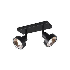 Lindby Lindby Ignacio stropní světlo, dvoužárovkové černá