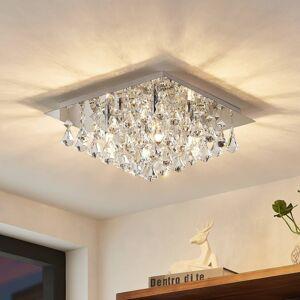Lindby Lindby Rimedia stropní svítidlo, chrom, 35 cm