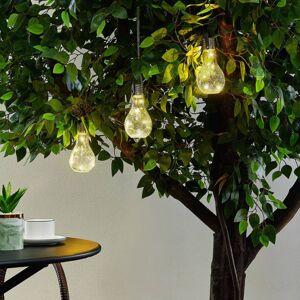 Lindby Lindby Shams LED solární světlo, sada 3 ks