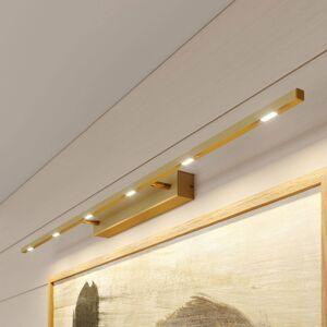 Lucande Lucande Tolu světlo nad obraz, mosaz matná, 119 cm