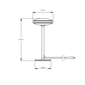 SHADE LIGHTS 53223 SmartHome stolní lampy