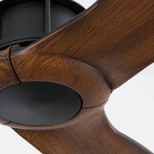FARO BARCELONA Ventilátor Just Fan WiFi opce, černá, ořech
