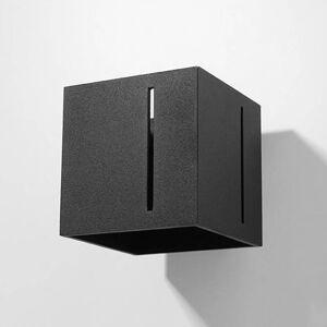 EULUNA Nástěnné světlo Topic up/down z hliníku, černá